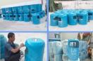 玻璃钢分类垃圾桶的制作方法