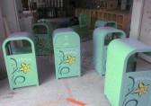 湛江分类钢制垃圾桶更节省广告费