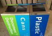 """罗定中学分类垃圾桶给同学们一个""""深刻的教训"""