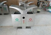 不锈钢户外垃圾桶厂家让海南地产环境更美好