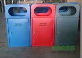 分类垃圾桶厂家杰作 运用完美工艺的钢制分类垃圾桶