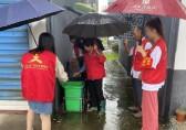 浙江曹港村开展垃圾分类志愿服务活动