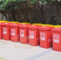 脚踏分类塑料垃圾桶