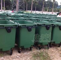 环卫移动塑料垃圾桶