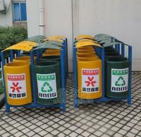 玻璃钢市政垃圾桶