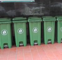 社区移动塑料垃圾桶