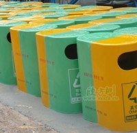 玻璃钢户外环保垃圾桶