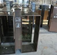户外分类垃圾桶工厂生产图