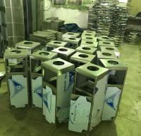 室内垃圾桶工厂焊接图