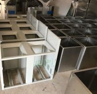 金属分类垃圾桶工厂生产图