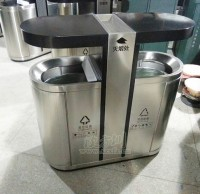 梧州市采购不锈钢分类垃圾桶 积极推进城乡垃圾分类工作