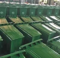 广安市再增分类环保钢制垃圾桶助力创文