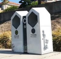 来宾市物业小区 定购户外分类垃圾桶