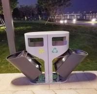 三亚联手钢制垃圾桶厂家 打造全国文明城市