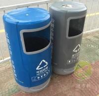 户外街道玻璃钢组合环保垃圾桶