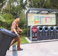 """垃圾分类分流告别""""前分后混"""" 绿化垃圾变废为宝"""