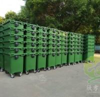 户外移动式大型塑料垃圾桶