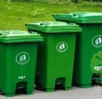 滚轮加厚式塑料垃圾桶