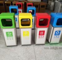 分类垃圾桶定制厂家 如期完工客户订单