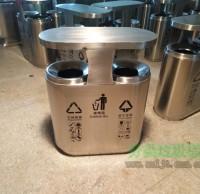 室内机场不锈钢分类垃圾箱