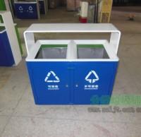 钢板喷塑分类垃圾桶
