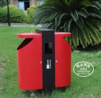 新型智能垃圾桶可自动给垃圾分类