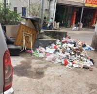 文宫跳墩河垃圾池将用铁皮垃圾桶代替