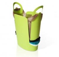 国外创意垃圾桶设计-再也不用担心无处安放的塑料袋了