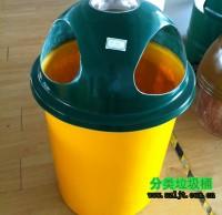 玻璃钢简洁户外垃圾桶