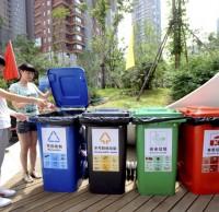 小区分类垃圾桶不分类,居民街道办齐心整治有害垃圾