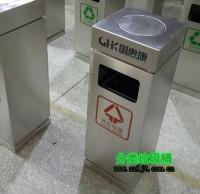 办公楼方形不锈钢垃圾桶