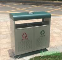 钢制室外分类垃圾桶