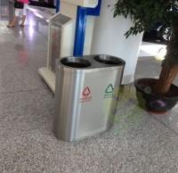 镀锌内胆室内不锈钢垃圾桶