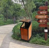 公园垃圾桶被撤销,你怎么看?