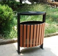 户外垃圾桶果皮箱安装