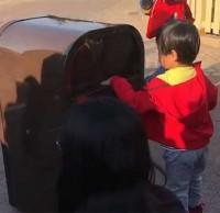 上海垃圾桶开口说话谈环保,科技推动社会进步