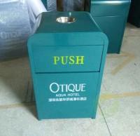 钢板烤漆酒店垃圾桶