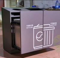 河南信阳这个小区出现了分类垃圾桶!垃圾分类全面启动!