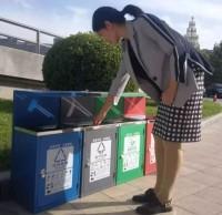 河北衡水新增96个分类垃圾桶