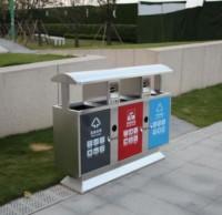 广场垃圾分类垃圾桶厂家定做