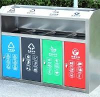 不同环境下选择哪种户外分类垃圾桶?