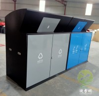 大容量冷轧钢板分类垃圾箱