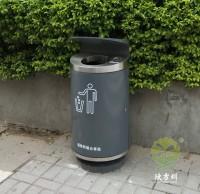 户外深圳市政道路鸭嘴垃圾桶