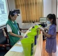 草芳社区开展青少年垃圾分类宣传活动