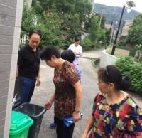 南湖村垃圾分类工作模式2.0正式开启