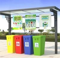 小区生活垃圾分类收集站