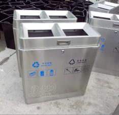 高档不锈钢垃圾桶