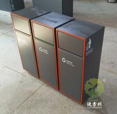 喷塑组合式不锈钢分类垃圾箱
