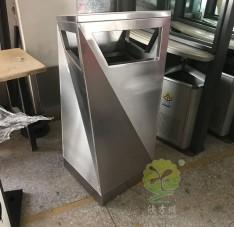不锈钢异型垃圾桶单桶