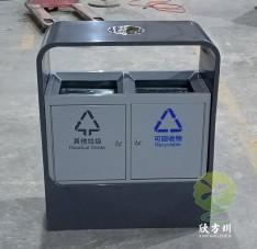 户外不锈钢环卫分类垃圾箱